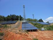 太陽光山頂発電所