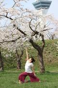 函館ヨガスポーツアロマトレーニング中谷江里