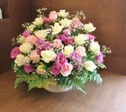 いわき市小名浜の花屋 花国 お供えの花