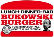 ランチ500円B級ハンバーガーBAR BUKOWSKIブコウスキー