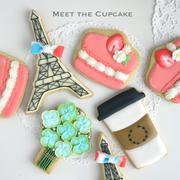 川崎市アイシングクッキー教室 Meet the Cupcake