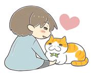 愛猫と甥っ子