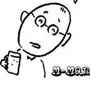 M-manの頭