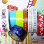 マスキングテープと文房具LIFE