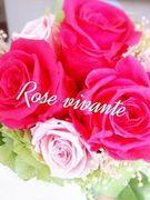 rosevivante久子プリザーブドフラワーお話