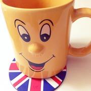 Yellow smily mug
