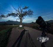 星空のある風景タイムラプス