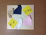 KAMITAの幸せ探し散歩〜折り紙で幸せゲットだよ♪