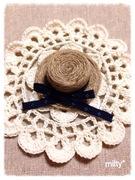 かぎ針編みって楽しいね!(*´ェ`*)