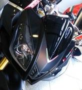 黒いロードバイクとオートバイのつぶやき