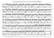 バッハ 無伴奏チェロ組曲、校訂者注記