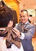 メンズ買い物同行スタイリスト小林茂之さんのプロフィール