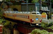 クローゼットの中の鉄道模型
