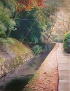 京都 de パステル画