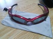 動体視力トレーニングメガネ「プライマリー」をバドに