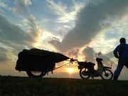 日本一周原付リヤカー時速25キロの旅
