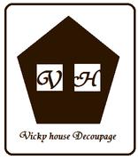 Vicky house〜デコパージュ教室 京都〜