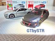 GTbySTRのカスタムトミカベース