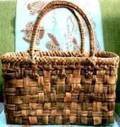 ハンドメイド☆国産天然素材のかごバッグとあれこれ。