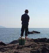 花屋で働く釣り師