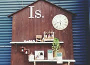 ハンドメイドのインテリアショップ「Shop Is.」