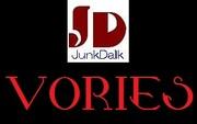 """Junk""""D""""Voriesのラーメン屋巡り"""