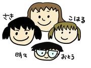 ほぼ絵日記☆自閉症とダウン症の娘たち
