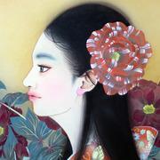 日本画家宝居智子