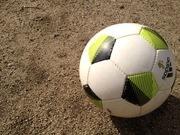 目指せメッシ♪少年サッカーやってます