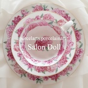 福岡 宗像市・久留米市ポーセラーツ教室 Salon Doll