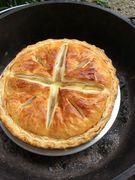 マーケットカフェアルクの炭火焼きアップルパイ