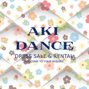 春日部AKIダンスアカデミーのドレス紹介