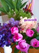 赤ちゃん連れOKのフラワー教室garden609
