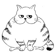 漫画 でぶ猫さん