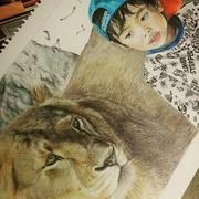 色鉛筆と想いを描く