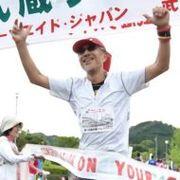 千葉県市川市でジョギング、マラニックするおじさん