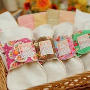 ふわふわの手縫い草木染め布ナプキン工房〜Rainbow*clover〜