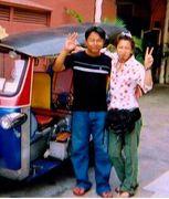 カオサン 金魚 バンコク 旅ブログ