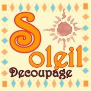 デコパージュ・ペパナプデコ《soleil》ソレイユ