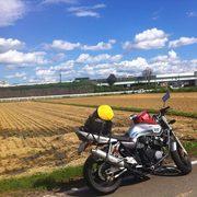 バイクツーリングで楽しむ「ガルパン大洗」