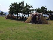 キャンプ アウトドア 海 川 父さんキャンプだぜ