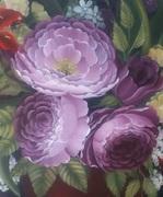 painting atelier M's Rose