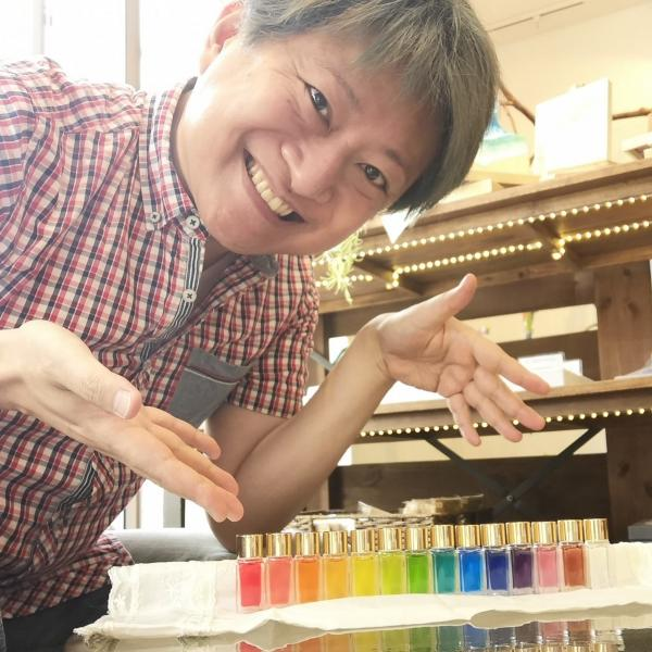 しんぽん:なごみ系ゲイのカラーセラピストさんのプロフィール