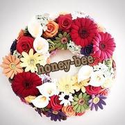 DECO`s  ART  honey♡bee  クレイフラワー教室