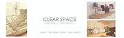 CLEAR SPACE
