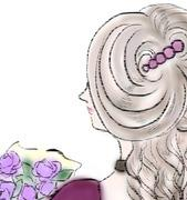 紫のバラの使途