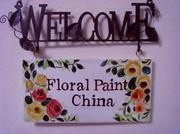 トールペイント教室 Floral Paint China