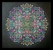 『宙を奏でる点描曼荼羅画』和音 ― Nagomi Note ―
