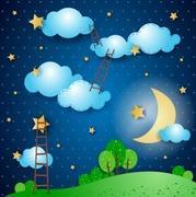 星月夜 子供の気になる症状とママのストレスを考える