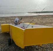 自作ボートで釣れるんかい(-.-)Zzz・・・・